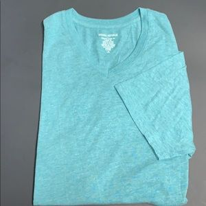 Banana Republic Premium Wash lt. Heather Aqua.